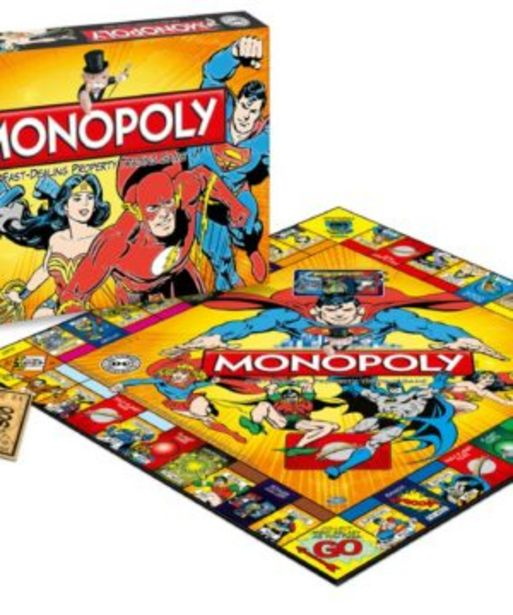 Monopoly Dc Universe Edition offers at R 799,9