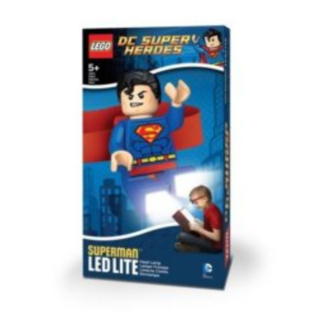Lego Super Hero – S-man Head Lamp offer at R 219,9