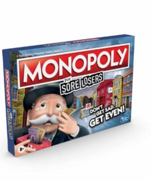 Monopoly Sore Losers Edition offers at R 699,9