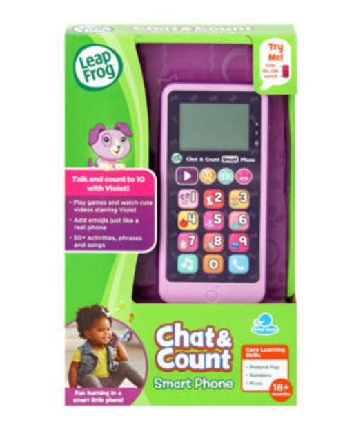 Chat And Count Smart Phone Purple offers at R 649,9