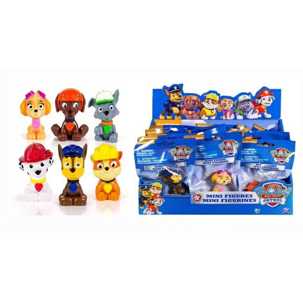 Paw Patrol Mini Figures offers at R 99,9