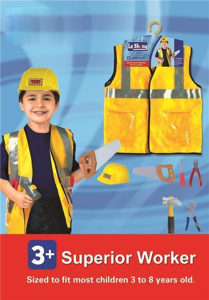Builder Dress Up & Play offers at R 249,9