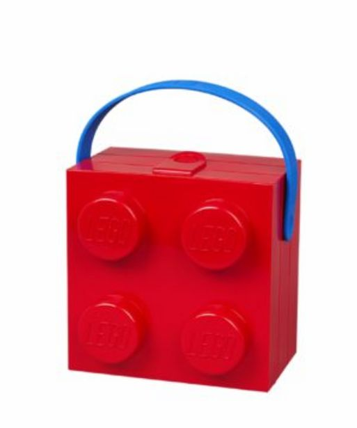 Lego Lunch Box With Handle 4 Red offers at R 249,9