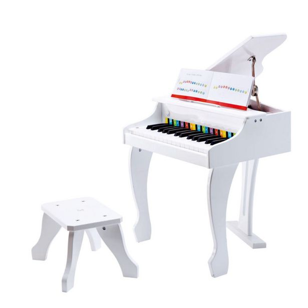 Hape Deluxe White Grand Piano offers at R 2999