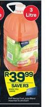 Pick n Pay Juice offer at R 39,99