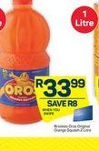 Oros Orange Squash offer at R 33,99