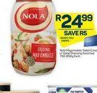 Nola Mayonnaise  offer at R 24,99