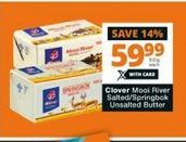 Clover Mooi River Salted Butter  offer at R 59,99