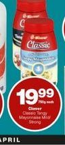 Clover Mayonnaise offer at R 19,99