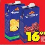 Fruitree Fruit juice  offer at R 16,99