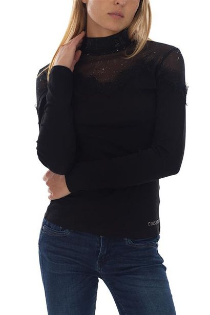 Turtle Neck Logo With Bling Mesh offers at R 300