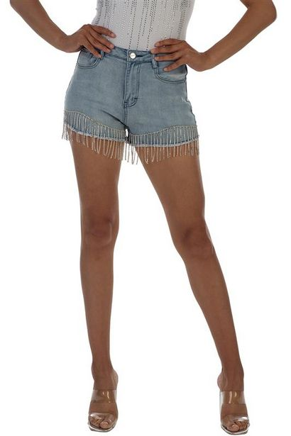 Ryder Shorts With Diamante Fringe offers at R 500