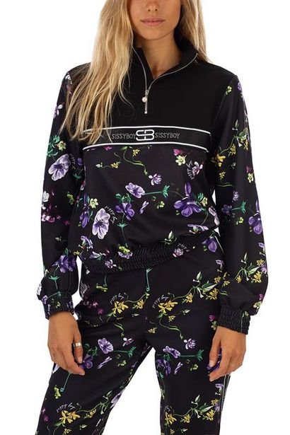 Floral Printed Tracksuit Jacket offers at R 500