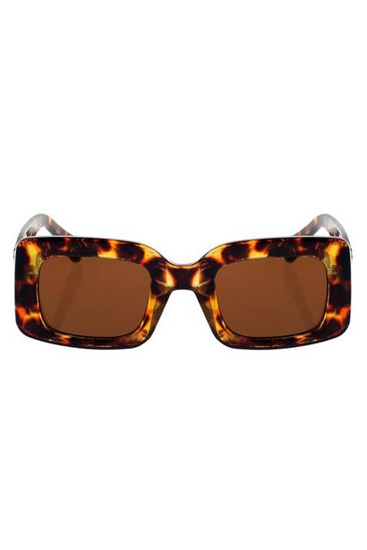 Square Frame Tortise Shell Sunglasses offers at R 499
