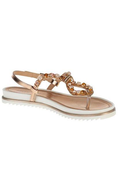 Bling All The Way Jewelled Thong Sandal offer at R 400