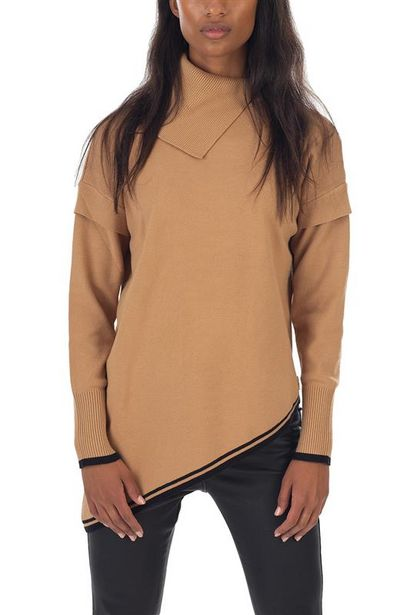 Asymmetrical Detailed Duo-Tone Knit offers at R 600