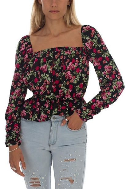 Long Sleeve Floral Top offers at R 350