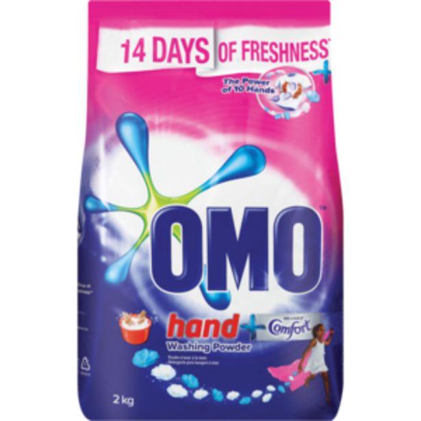 Omo Comfort Hand Washing Powder 2kg offers at R 57,99