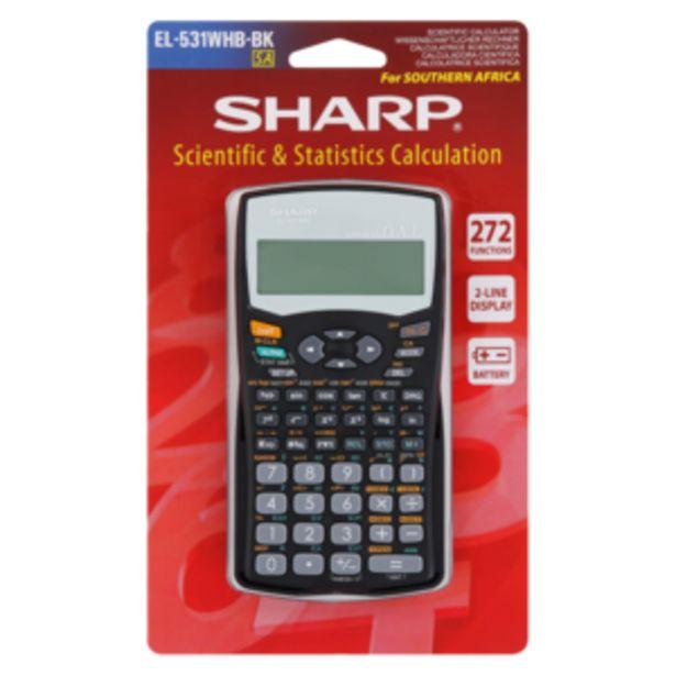 Sharp EL0531WHB Scientific Calculator offers at R 199,99