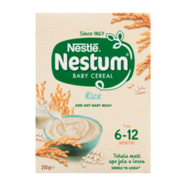 Nestlé Nestum Rice Flavoured Baby Cereal 250g offers at R 26,99