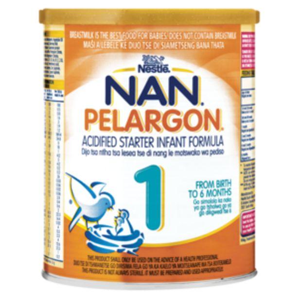 Nestlé Nan Pelargon No. 1 Acidified Starter Infant Formula 400g offers at R 69,99
