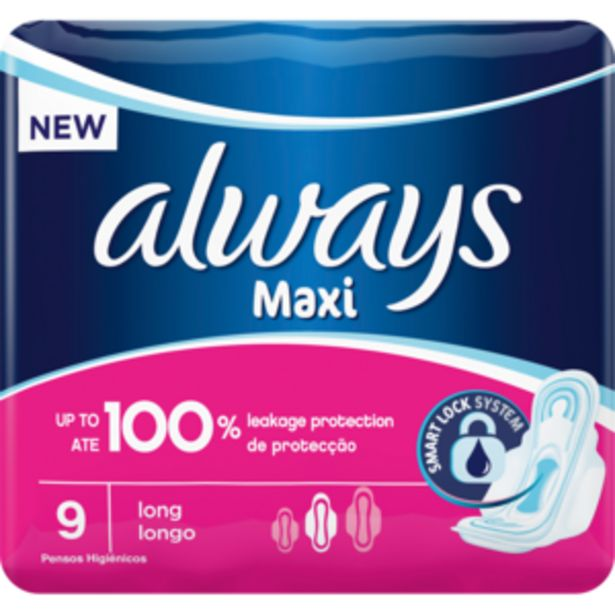 Always Maxi Plus Sanitary Pads 9 Pack offers at R 23,99