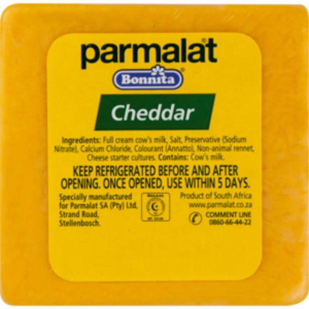 Parmalat Bonnita Cuts Cheddar Cheese Per kg offers at R 119,99