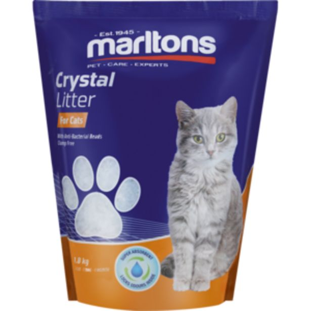 Marltons Crystal Cat Litter Pack 1.5kg offers at R 89,99