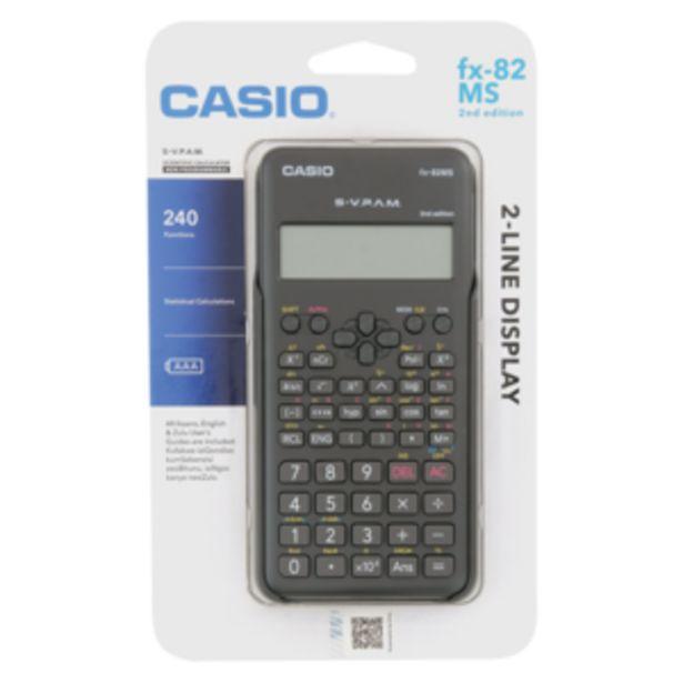 Casio 2nd Edition FX-82MS Scientific Calculator offers at R 199,99