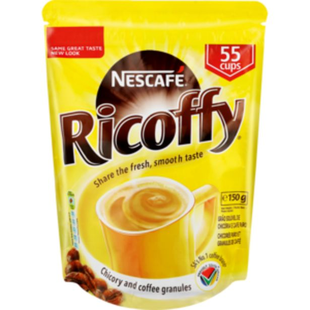 Nescafé Ricoffy Instant Coffee Doyle Pack 150g offers at R 29,99