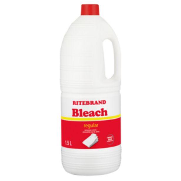 Ritebrand Regular Bleach 1.5L offers at R 23,99