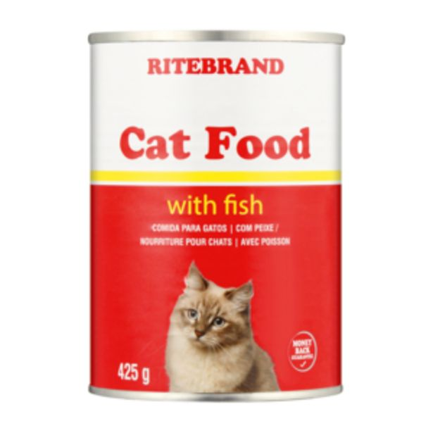 Ritebrand Cat Food With Fish 425g offers at R 13,99