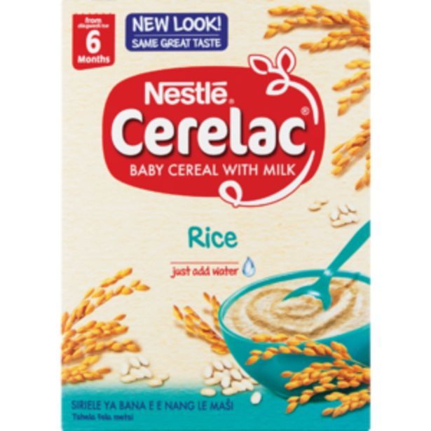 Nestlé Cerelac Rice Baby Cereal 250g offers at R 41,99