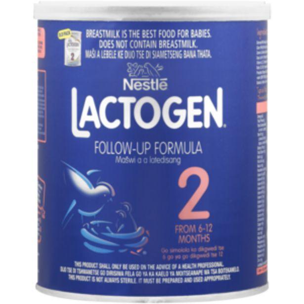 Nestlé Lactogen 2 Follow-Up Formula 400g offers at R 52,99