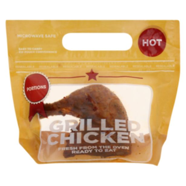 Grilled Portion BBQ Flavoured Chicken Per kg offers at R 84,9