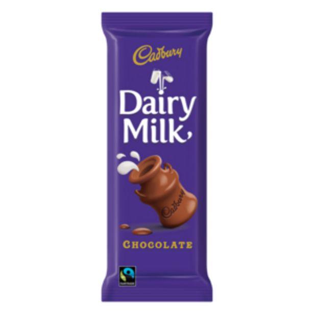 Cadbury Dairy Milk Chocolate Slab 80g offers at R 15,99