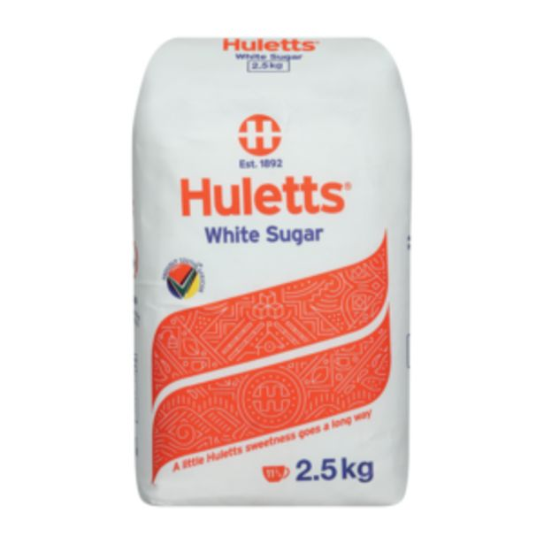 Huletts White Sugar 2.5kg offers at R 47,99