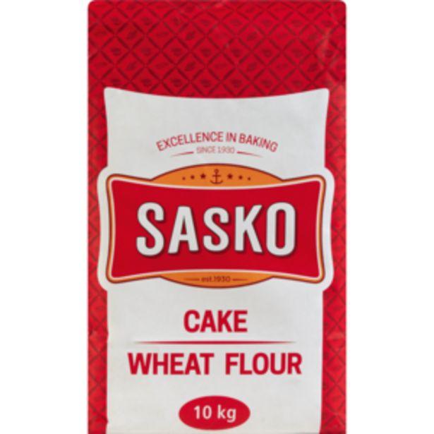 Sasko Cake Wheat Flour 10kg offers at R 109,99