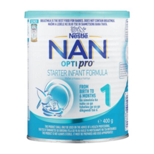 Nestlé Nan Optipro 1 Infant Formula 400g offers at R 86,99