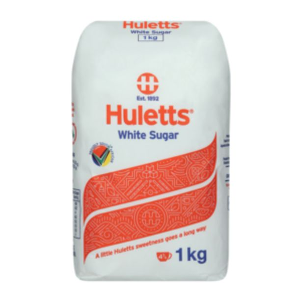 Huletts White Sugar 1kg offers at R 24,99