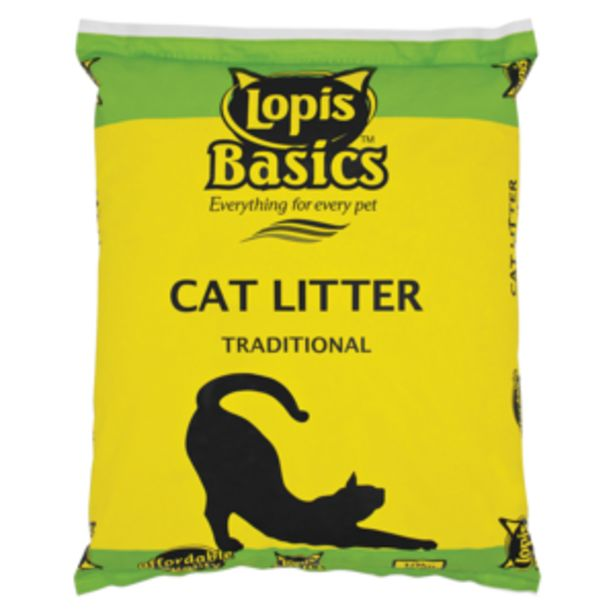 Lopis Basics Traditional Cat Litter 10kg offers at R 74,99