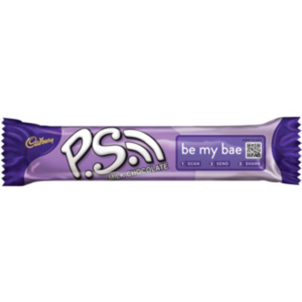 Cadbury P.S. Milk Chocolate Bar 48g offers at R 9,99