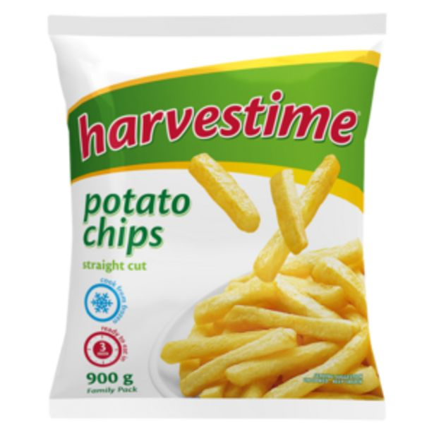 Harvestime Straight Cut Potato Chips 900g offers at R 29,99