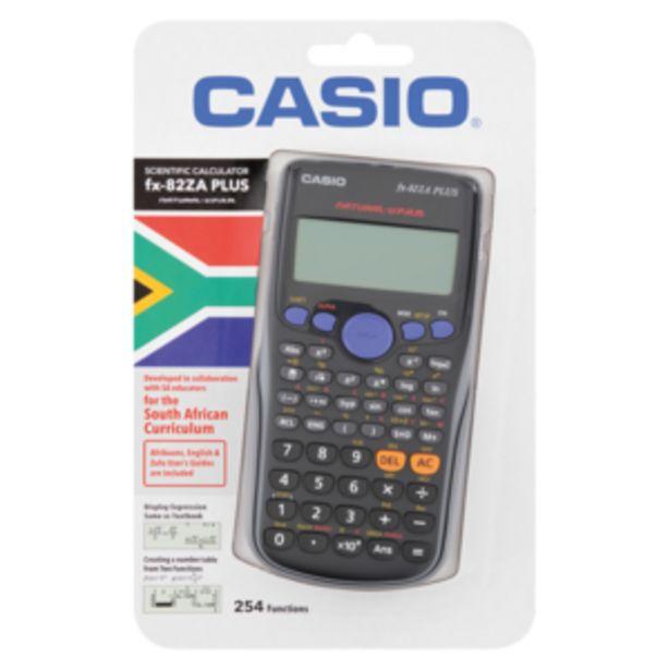 Casio FX 82ZA Plus Scientific Calculator offers at R 299,99