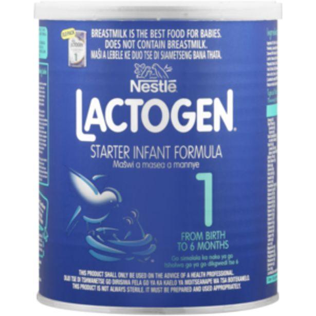 Nestlé Lactogen 1 Infant Formula 400g offers at R 52,99
