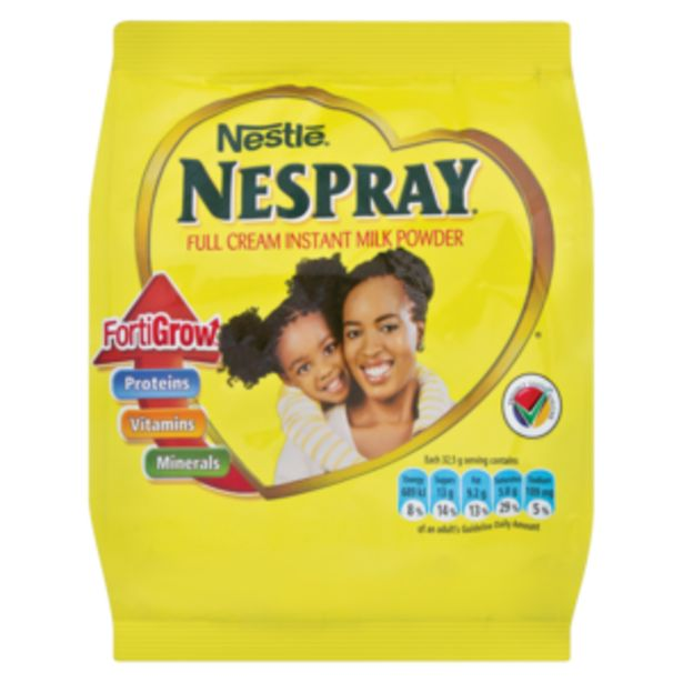 Nestlé Nespray Full Cream Milk Powder Doy Pack 250g offers at R 39,99