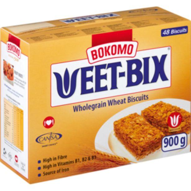 Bokomo Weet-Bix Cereal 900g offers at R 53,99