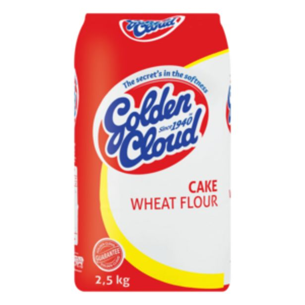 Golden Cloud Cake Wheat Flour 2.5kg offers at R 28,99