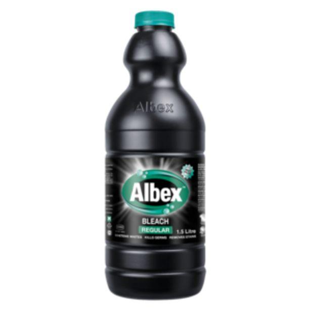 Albex Regular Bleach 1.5L offers at R 24,99