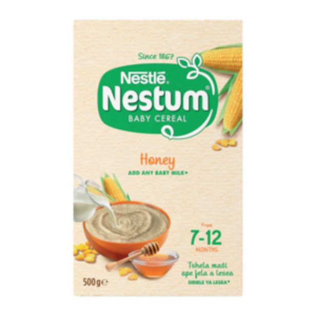 Nestlé Nestum Honey Flavoured Baby Cereal 500g offers at R 44,99